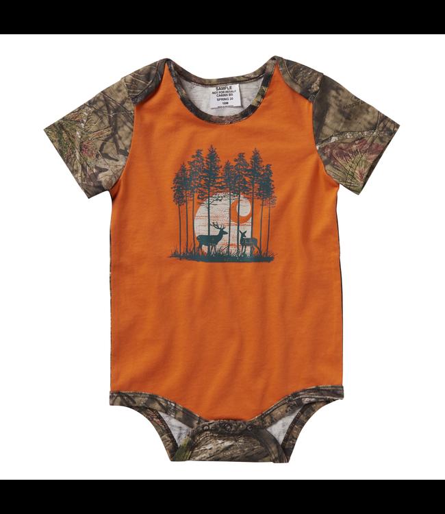 Carhartt Short Sleeve Camo Graphic Bodyshirt Boy's Infant CA6065