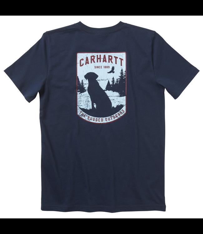 Carhartt Short Sleeve Graphic Pocket Tee Boy's CA6082
