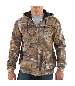 Carhartt Hooded Zip-Front Sweatshirt Midweight Realtree XTRA® Camo K289