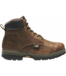 "Wolverine Work Boot Gallatin Durashocks® 6"" Steel-Toe W10361"