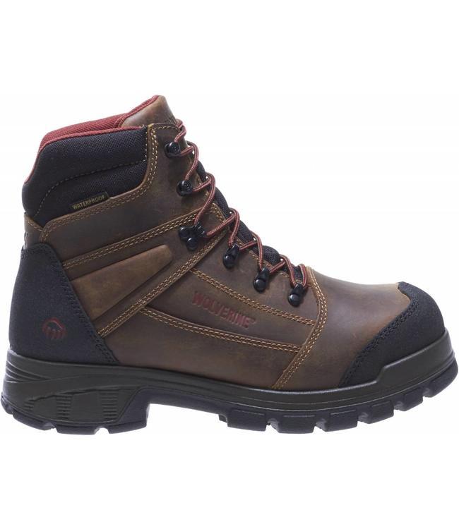 """Wolverine Work Boot Renton LX Waterproof Composite Toe 6"""" EH W10505"""