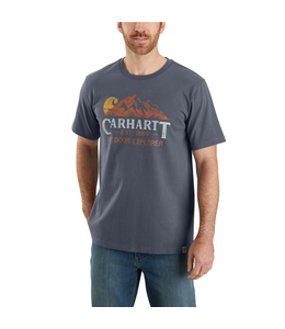 Carhartt Men's Relaxed-Fit Heavyweight Short-Sleeve Outdoor Explorer Graphic T-Shirt 104183