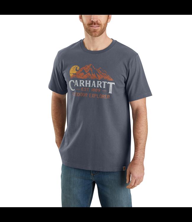 Carhartt Men's Relaxed-Fit Heavyweight Short-Sleeve Outdoor Explorer Graphic T-Shirt 104183