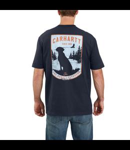Carhartt Men's Original Fit Heavyweight Short-Sleeve Pocket Dog Graphic T-Shirt 104179