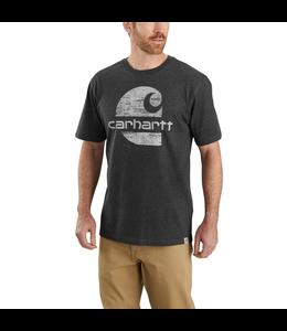 Carhartt Men's Original Fit Heavyweight Short-Sleeve Logo Graphic T-Shirt 104387