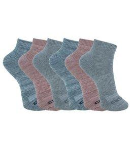 Carhartt Women's All Season Low Cut Socks 6-Pack CHWA0247L6