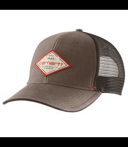 Carhartt Men's Canvas Mesh-Back Premium Quality Graphic Cap 104335