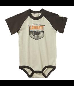 Carhartt Short-Sleeve Raglan Graphic Bodyshirt Boy's Infant CA6063