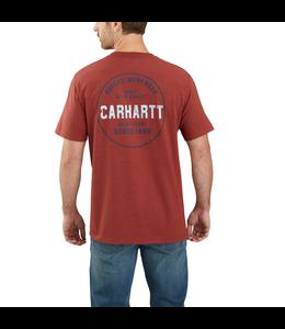 Carhartt Men's Relaxed Fit Heavyweight Short-Sleeve Pocket Rugged Graphic T-Shirt 104178