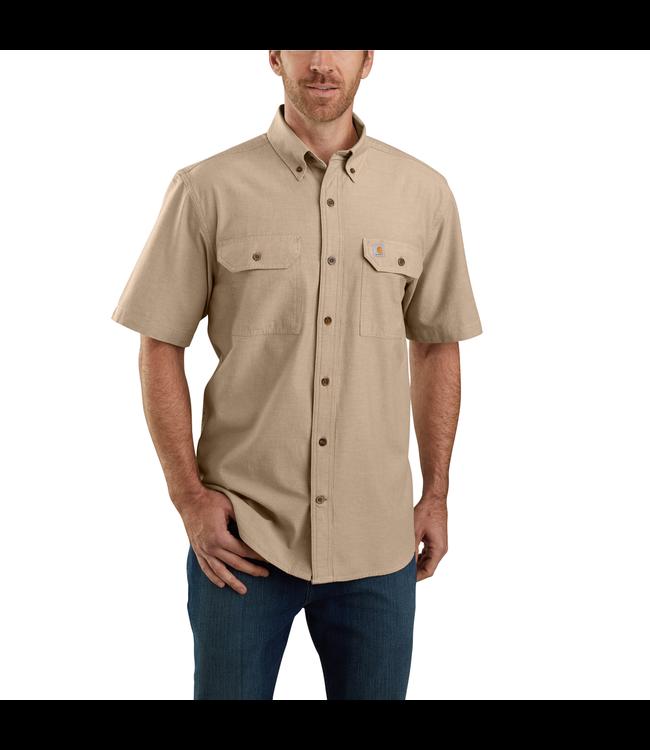 Carhartt Men's Original-Fit Midweight Short-Sleeve Button-Front Shirt 104369