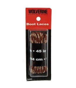 Wolverine Boot Laces Brown 45 Inch W69416