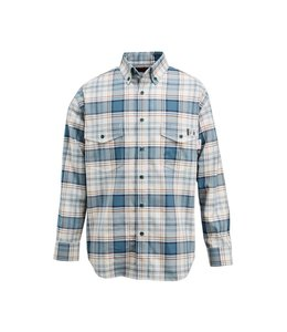 Wolverine Men's FR Plaid Long Sleeve Twill Shirt W1203980