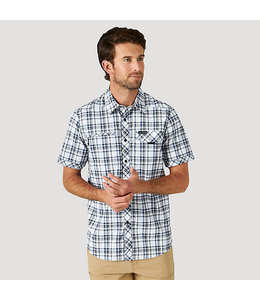 Wrangler ATG By Wrangler Men's Plaid Stretch Utility Shirt NSP65LG