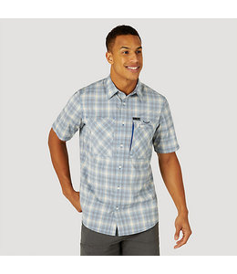 Wrangler ATG By Wrangler Men's Hike To Fish Short Sleeve Shirt NSP84LG