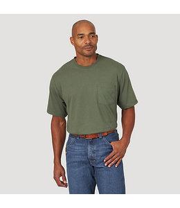 Wrangler Men's Riggs Workwear Short Sleeve 1 Pocket Performance T-Shirt 3W701HG