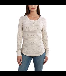 Carhartt Women's Meadow Henley Printed Long Sleeve Shirt 102313