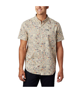 Columbia Men's Rapid Rivers™ Printed Short Sleeve Shirt 1768931