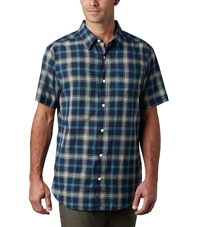 Columbia Men's Under Exposure™ Yarn-Dye Short Sleeve Shirt 1715221