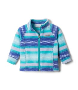 Columbia Girls' Infant Benton Springs™ II Printed Fleece Jacket 1618283
