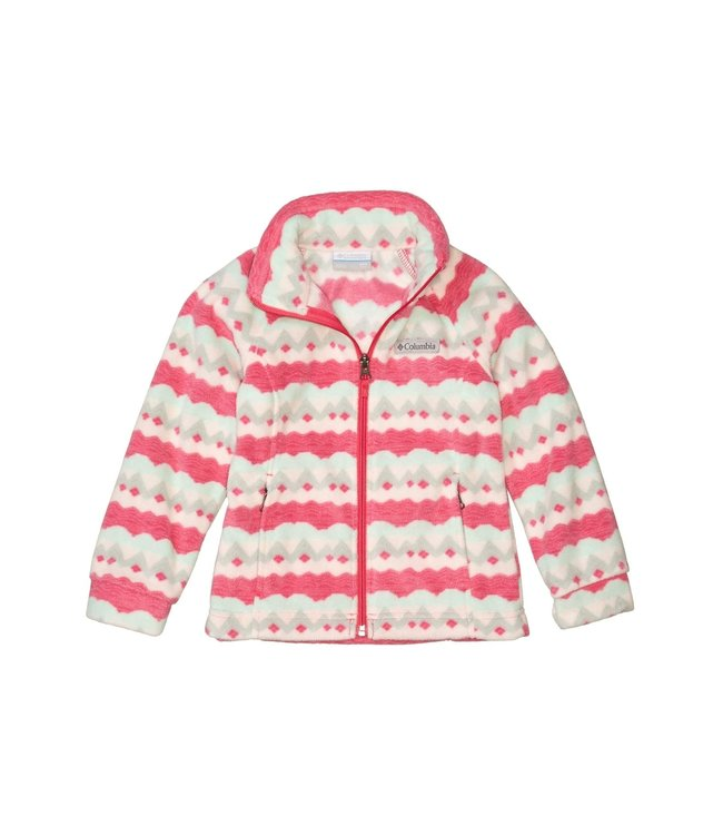 Columbia Girls' Toddler Benton Springs™ II Printed Fleece Jacket 1618282
