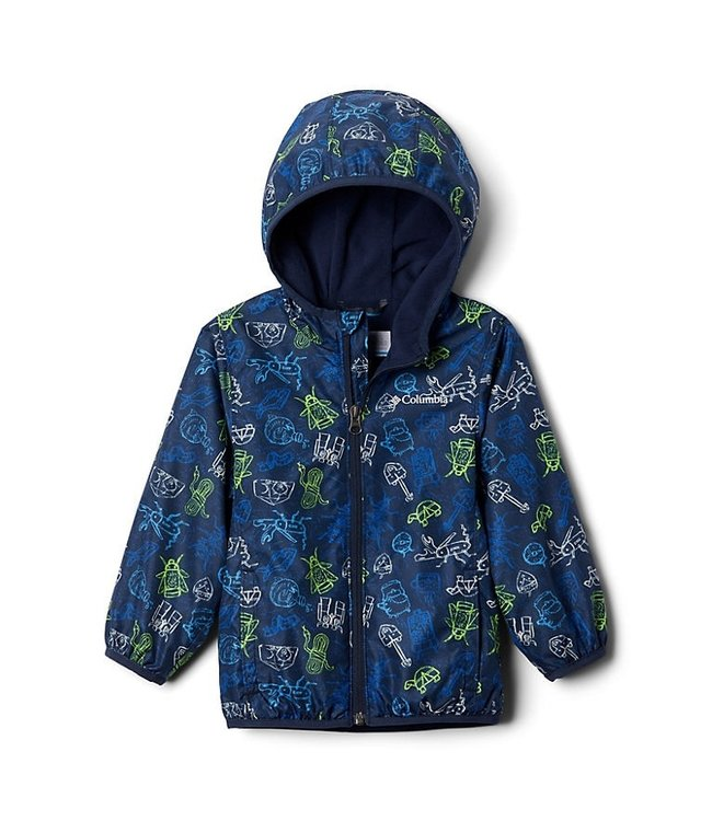 Columbia Boys Toddler Mini Pixel Grabber™ II Wind Jacket 1544291