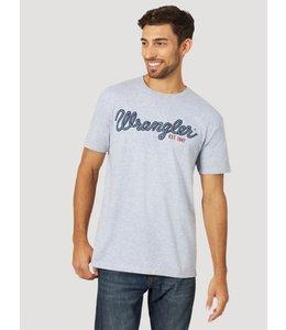 Wrangler Men's Short Sleeve Graphic T-Shirt MQ6118D
