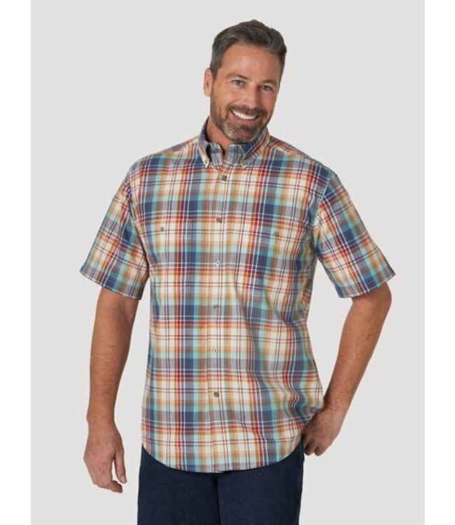 Wrangler Men S Rugged Wear Short Sleeve