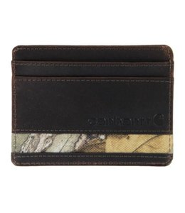 Carhartt Oil Tanned Realtree Card Case CH-62242