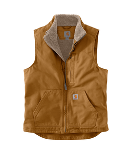 Carhartt Men's Sherpa-Lined Mock Neck Vest 104277