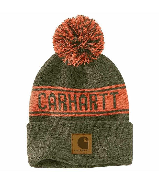 Carhartt Men's Knit Pom-Pom Hat 104487