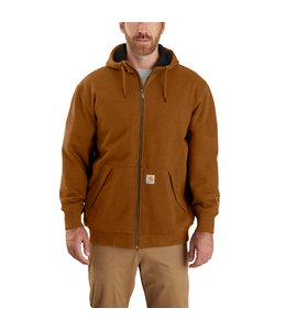 Carhartt Men's Rain Defender Original Fit Midweight Thermal Lined Full-Zip Hooded Sweatshirt 104078