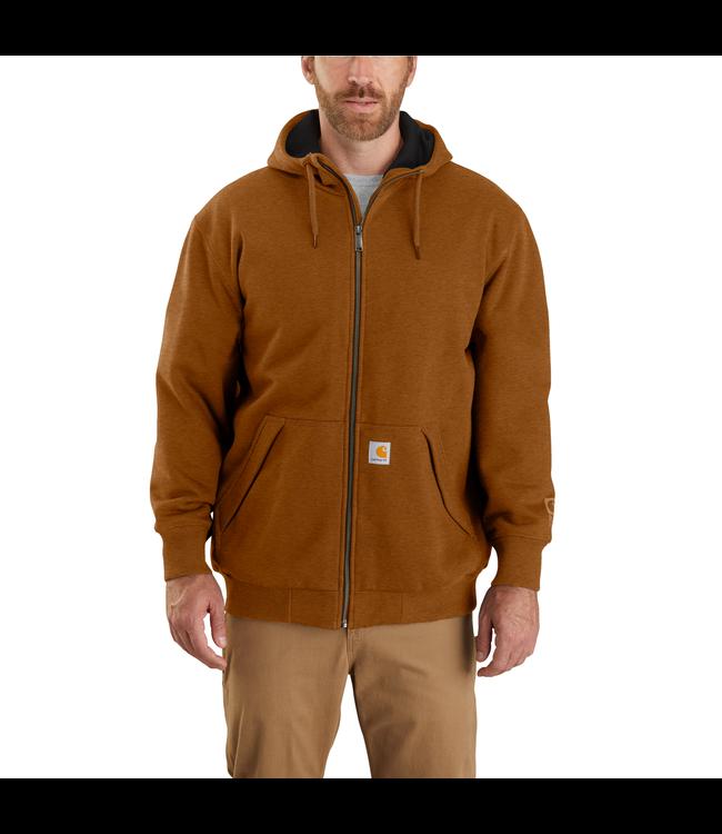 Carhartt Men's Rain Defender Original Fit Midweight Thermal Lined Full-Zip Hooded Sweatshirt 104078