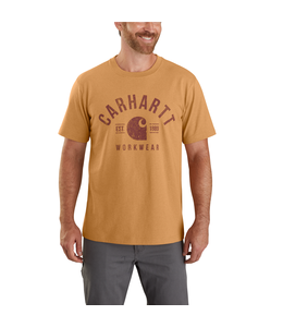 Carhartt Men's Heavyweight Short Sleeve Workwear Graphic T-Shirt 104582