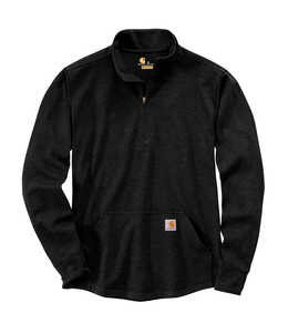 Carhartt Men's Relaxed Fit Heavyweight Long Sleeve Half Zip Thermal T-Shirt 104428