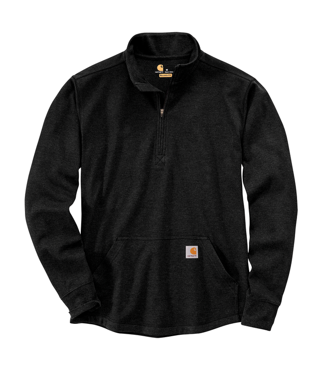 Carhartt Men's Relaxed Fit Heavyweight Long Sleeve Half Zip Thermal T-Shirt 104428