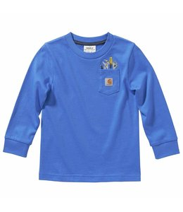 Carhartt Boy's Long Sleeve Tool Pocket Tee CA6121