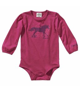 Carhartt Girl's Infant Long Sleeve Heather Bodyshirt CA9787