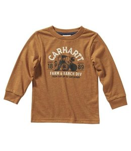 Carhartt Boy's Farm and Ranch Tee CA6134