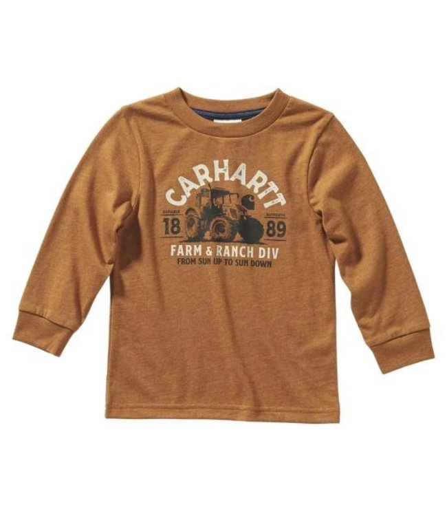 Carhartt Boy's Infant Farm and Ranch Tee CA6134