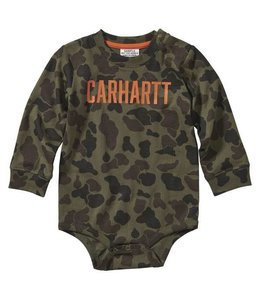Carhartt Boy's Infant Long Sleeve Camo Printed Bodyshirt CA6113