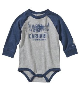 Carhartt Boy's Infant Long Sleeve Rugged Workwear Bodyshirt CA6109