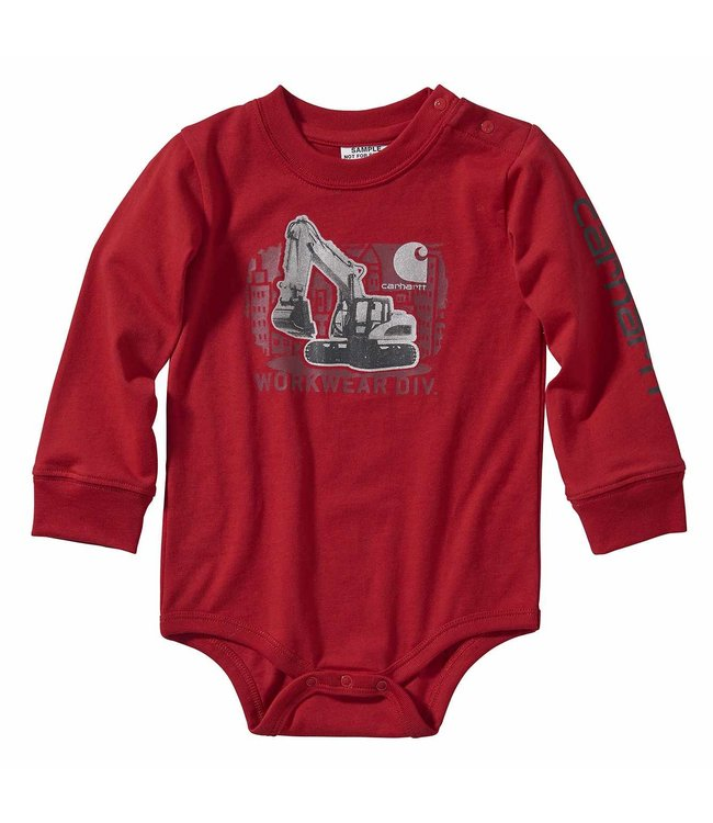 Carhartt Boy's Infant Long Sleeve Bodyshirt CA6107