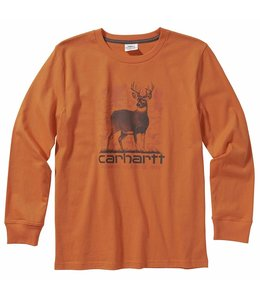 Carhartt Boy's Long Sleeve Graphic Tee CA6096