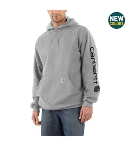 Carhartt Men's Midweight Hooded Logo Sweatshirt K288
