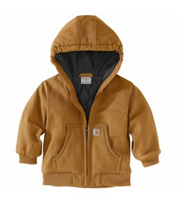 Carhartt Boy's Infant/Toddler Flannel Quilt Lined Active Jacket CP8430