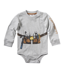 Carhartt Boy's Infant Construction Stack Bodyshirt CA6055