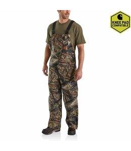 Carhartt Men's Quilt Lined Camo Bib Overalls 101226