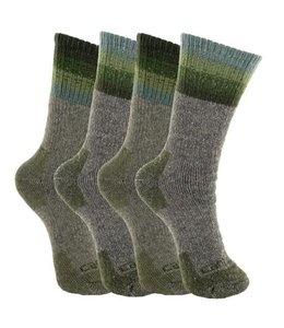 Carhartt Women's Crew Sock Wool Blend 4-Pack WA5546-4