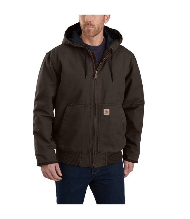Carhartt Men's Washed Duck Insulated Active Jacket 104050