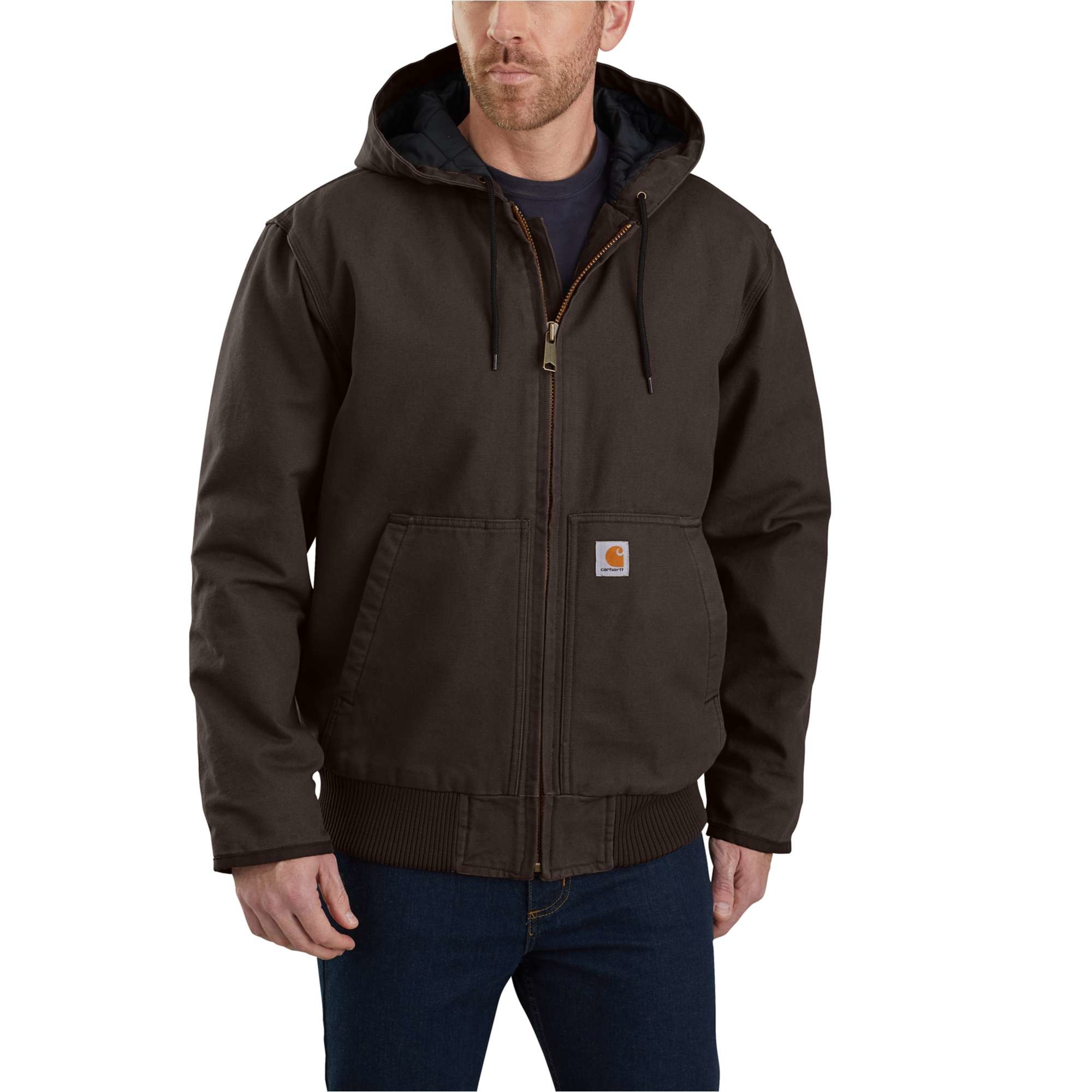Carhartt Men S Washed Duck Insulated Active Jacket 104050 Country Traditions Clothing And Gift Shoppe [ 2000 x 2000 Pixel ]